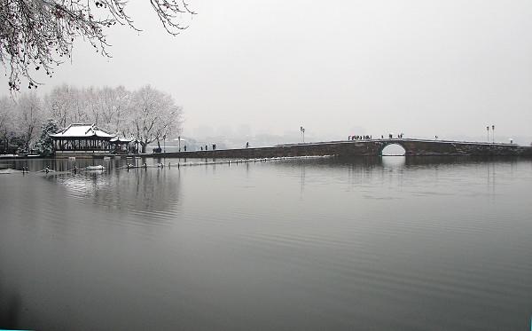 寒假旅游好去处二:杭州西湖