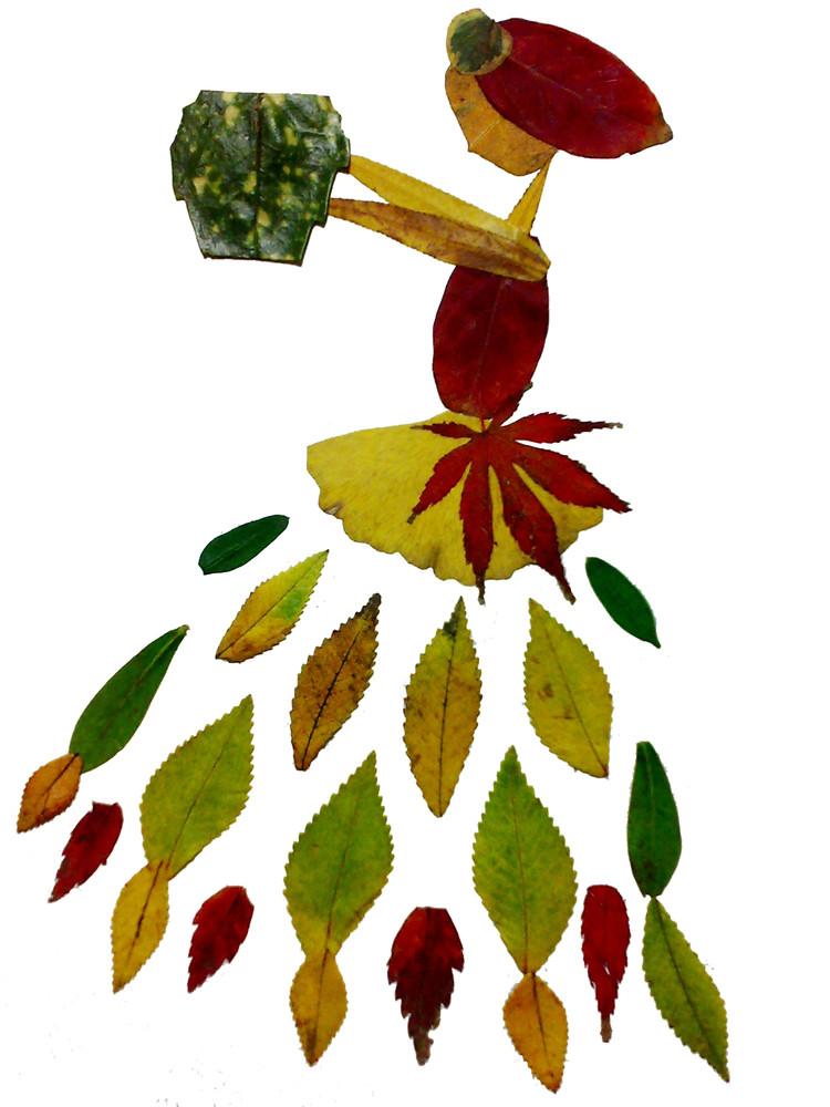 虚树叶的画法-树叶的画法简笔画图片_国画树叶的画法